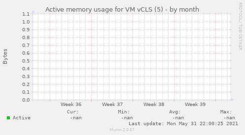 Active memory usage for VM vCLS (5)
