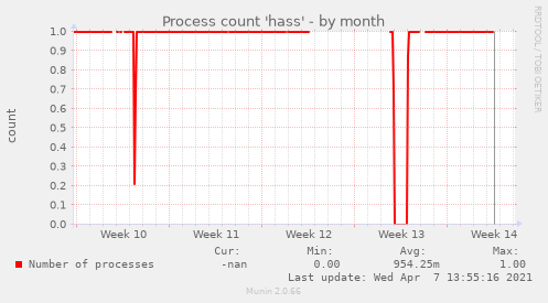 Process count 'hass'